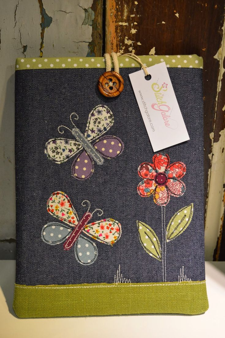 Funda para tablet con tela reciclada - Cover for tablet with recycled fabric …