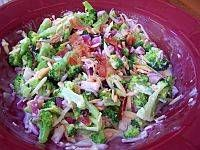 Broccolisalat med bacon|