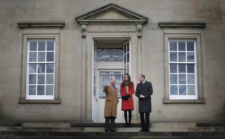 4/5/2013: Tamar Manoukin Outdoor Centre opening at Dumfries House, with Prince Charles & Prince William (Cumnock, East Ayrshire, Scotland)