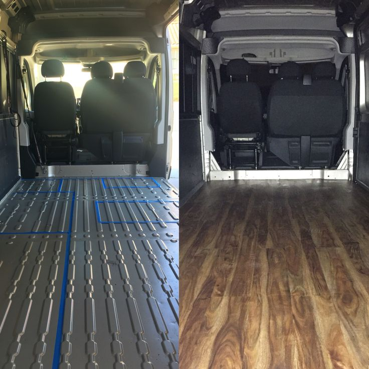 Our 2016 Dodge Promaster Work In Progress Subfloor