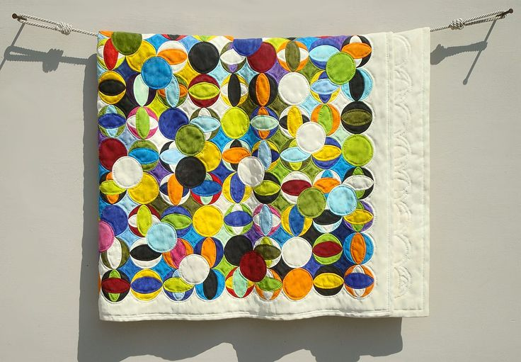 """Pretty amazing- """"quilt"""" made from wood with silk dyes, Fraser Smith - """"Improv 7"""""""