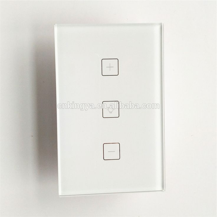US WiFi Smart lighting dimmer wall switch with touch panel and iOS and android app control support amazon alexa and google home