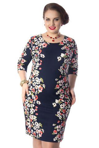 Летнее длинное платье большого размера купить в интернет-магазине