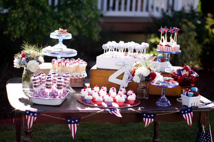 4th of july: Dessert Tables, Holiday, Jenny Cookies, July Party, 4Th Of July, July 4Th, July Ideas, Happy 4Th, Party Ideas