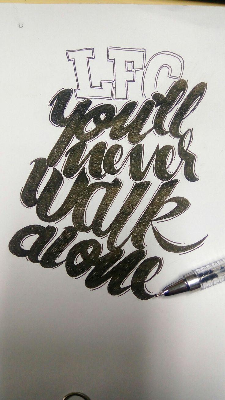 #goodtype #lettering #handlettering #calligraphy #kaligrafi #sketch #design #logo #logotype #calligraffiti #moderncalligraphy #typematters #brushtype #typespire #typographyjakarta #typographybandung #typography #calligraphy #YNWA #LFC #Liverpool