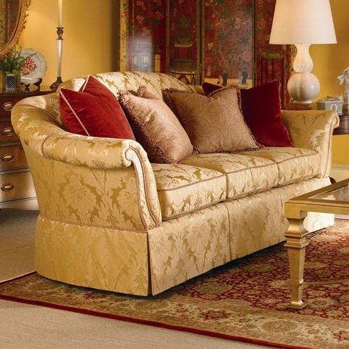 Good Signature Upholstered Accents Traditional Sofa With Skirted Base By Century    Baeru0027s Furniture   Sofa Miami