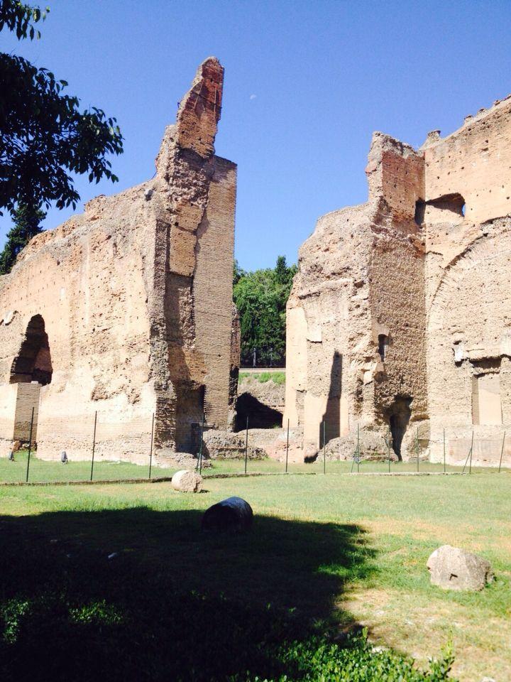 Scorcio delle Terme di Caracalla