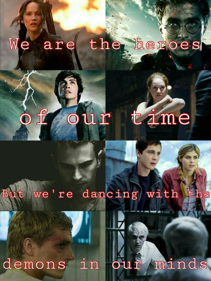 We are the heroes of our time. But  we're dancing with the demons in our minds.   We are the heroes of our time- Måns Zelmerlöw