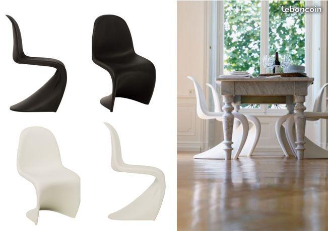 Chaise Panton S Neuves De Qualite Superieure Chaise Panton Chaise Decoration Classique
