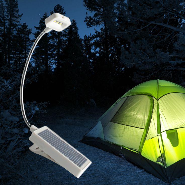 Multi-Purpose Solar LED Clip-On Light