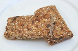 Looking for a great healthy snack, try this yummy muesli bar!