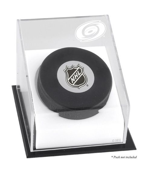 Carolina Hurricanes Hockey Puck Logo Display Case