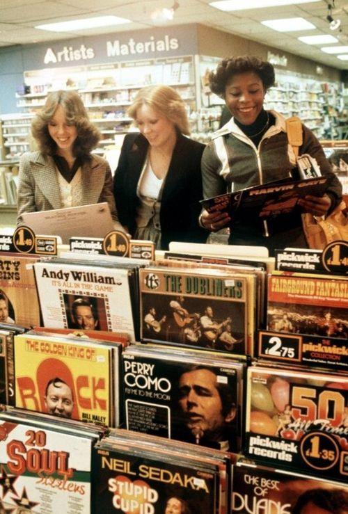 Record Shoppin