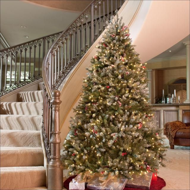 Best Pre Decorated Christmas Trees Walmart