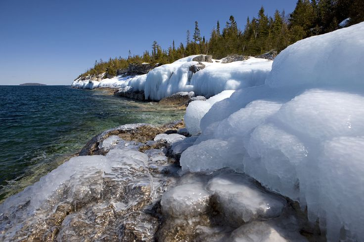 Even in the quiet winter months - the Bruce Peninsula offers spectacular scenery!