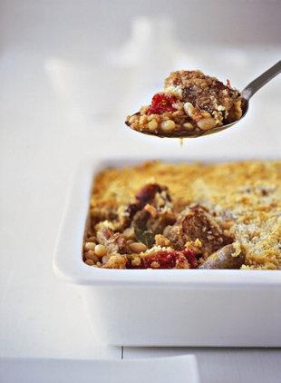 Maklike Cassoulet | SARIE | Easy cassoulet #french #leftovers