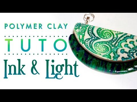 [TUTO] Imitation Céramique - Polymer Clay Faux Ceramic - YouTube