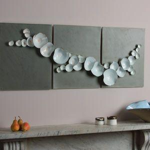 amazing ceramic installation by Katie Bonham, love this.
