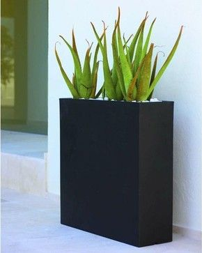 Wall Outdoor Planter   contemporary   outdoor planters   chicago   Home Infatuation