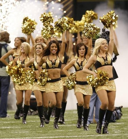 New Orleans Saintsations!!! They have the best uniforms EVER!!