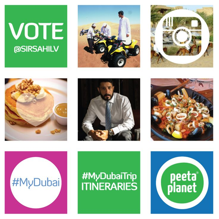 You voted for your top 12 International Instagrammers. Now it's time for you to help us and Mydubai decide what we're going to do with them! Round two of the #MyDubaiTrip vote is open until Friday September 5th at 21:00 GST!  Vote for 12 itineraries, curated by #MyDubai's social media personalities and residents: http://bit.ly/1tQwQ5N