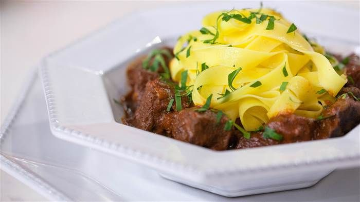 Eric Ripert's hearty, one-pot beef goulash is pure comfort