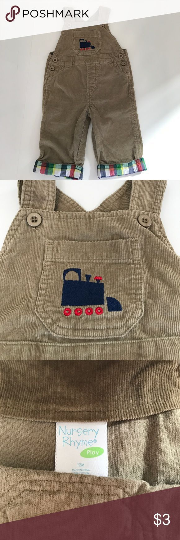 Tendance salopette 2017  EUC Bundle Baby to Save on Ship! EUC! One of my favorite beige corduroy overalls