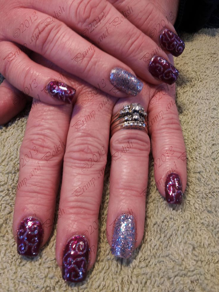 Shellac Acrylic Nails: 17 Best Crackle Nails Design Images On Pinterest
