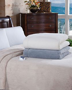 Great gift for the Holidays! SoftHeat MacroMink Heated Blanket. Did you know heated blankets and pads can also save up to $60 per month on your heating bill?