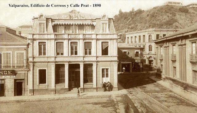 Ed. de Correos e inicio de calle Prat