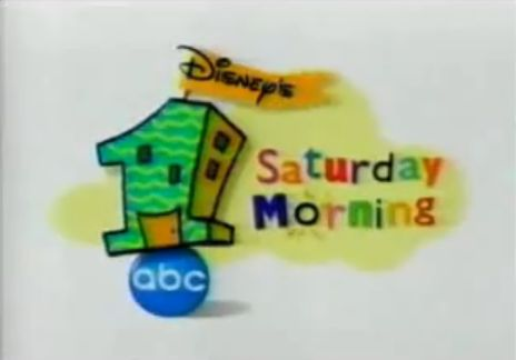 Disney's One Saturday Morning...... I miss this days when I had nothing to do but lay around watching Recess and pepper Ann an all the other fun shows on Saturday morning!
