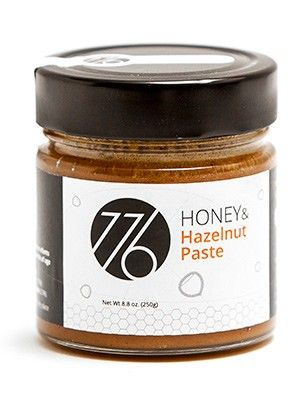 HONEY WITH HAZELNUT CREAM 250gr. The hazelnuts are harvested by hand and then trasformed in a pasta that is combined with the honey through a cold working procedure that totaly preserves the organoleptic qualities. This is the ideal product for your mid-afternoon snack or for a breakfast full of energy to start your day on the right foot. GREEKFLAVOURS.COM delivers goods NEXT DAY in Europe. Pure and tasty #greekflavours Product suitable for following diets: VEGETARIAN, SUGAR FREE