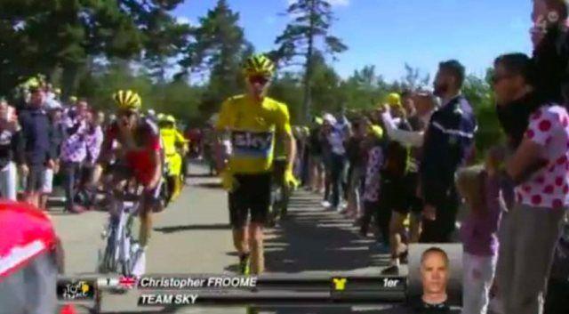 http://velolive.com/velo_race/velo_results/12535-tour-de-france-2016-rezultaty-12-stage.html  Крис Фрум (Chris Froome) Team Sky сохранил майку лидера по итогам 12-го этапа Тур де Франс-2016