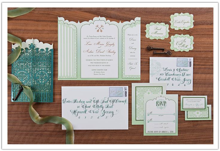 Luxurious Secret Garden Wedding Invitations by Alchemy Fine Events  http://alchemyfineevents.com/2011/12/secret-garden-wedding-invitations-sneak-peak/#