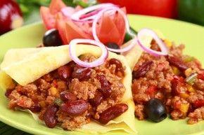 Meksykański przekładaniec z wołowiną – krok 4