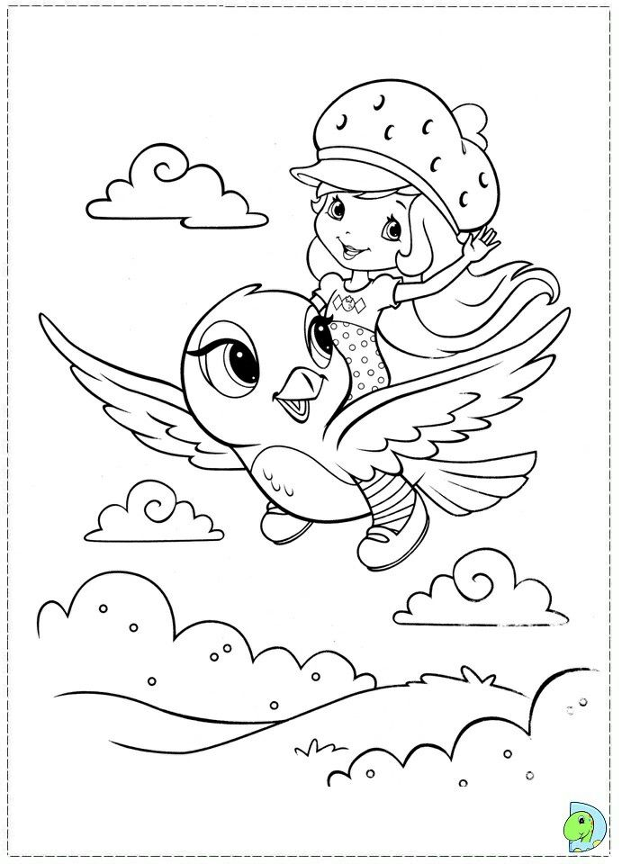 Pin By Jhanet On Inne Kolorowanki Strawberry Shortcake Coloring Pages Free Coloring Pages Cartoon Coloring Pages