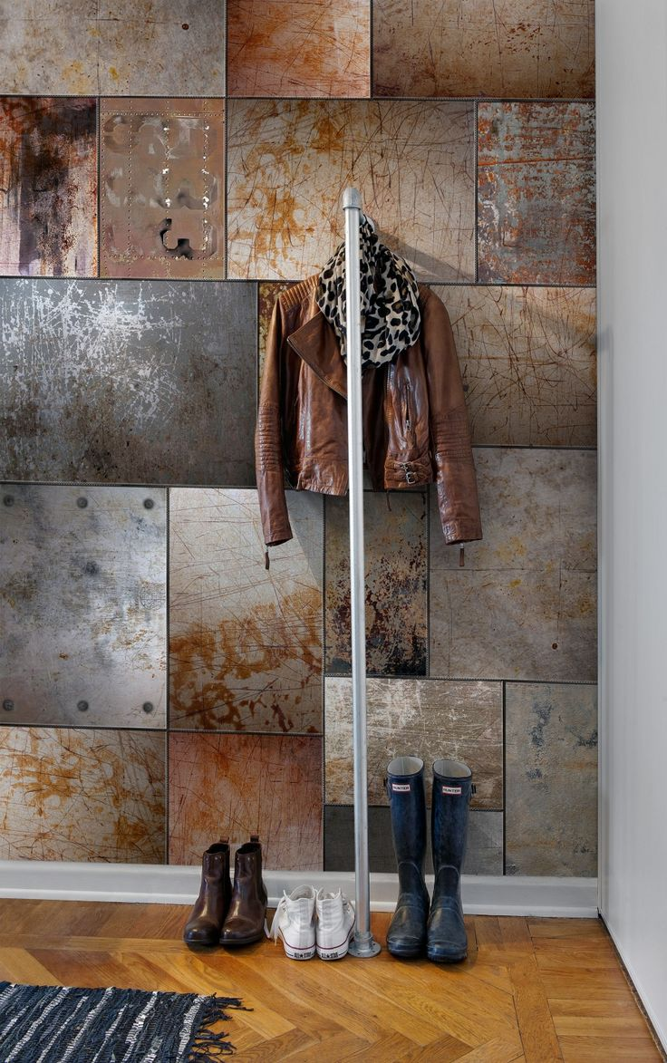 Steel walls- Like living in an art gallery!