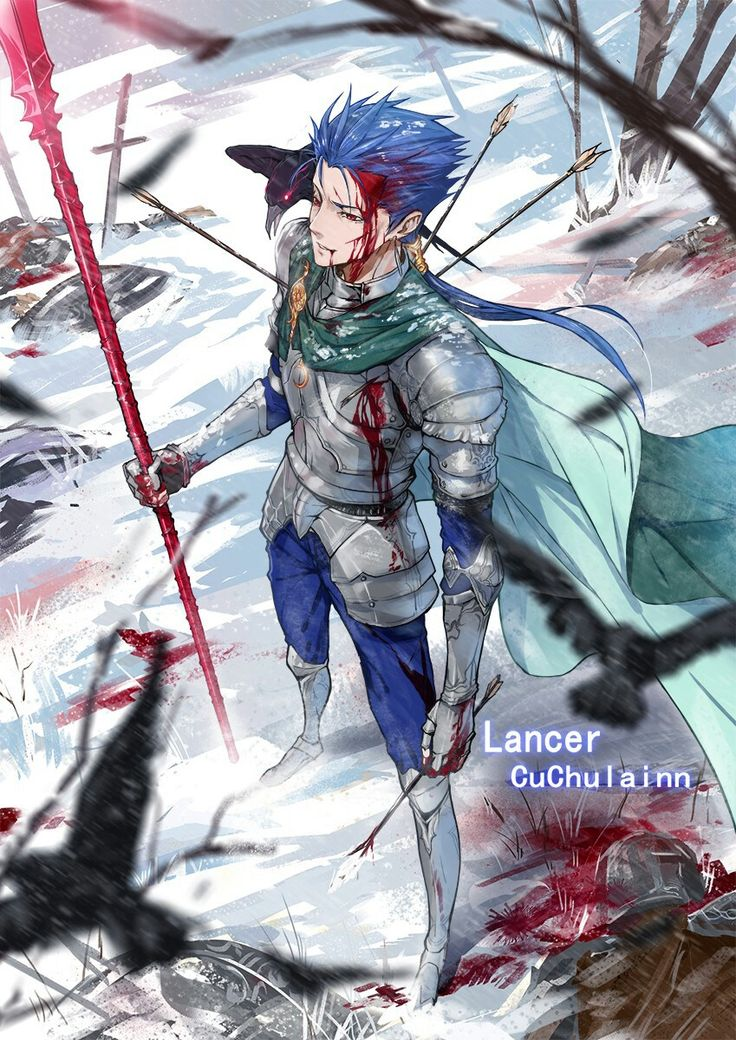 He didn't come from Fate/Zero but I just like him and this image
