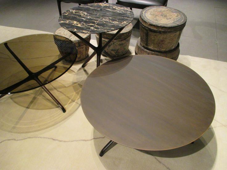Ceccotti Collection at Salone de Mobile. Incredible sculptural wood pieces.