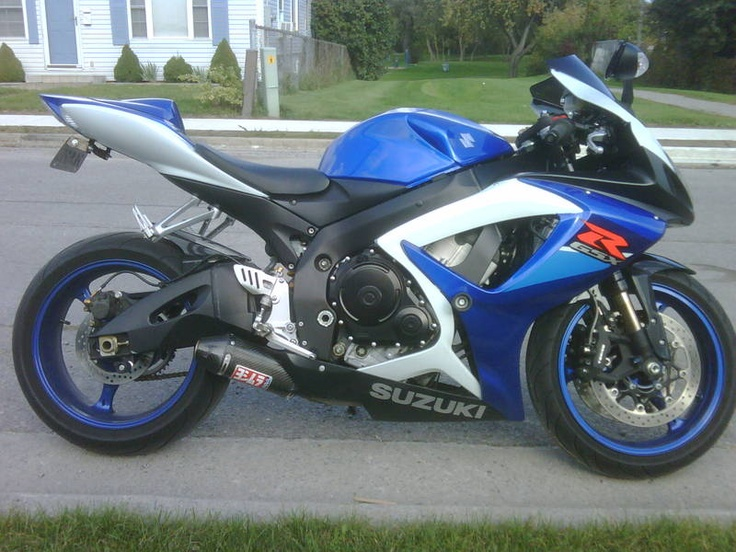 MY OLD BIKE - 2007 GSXR 750