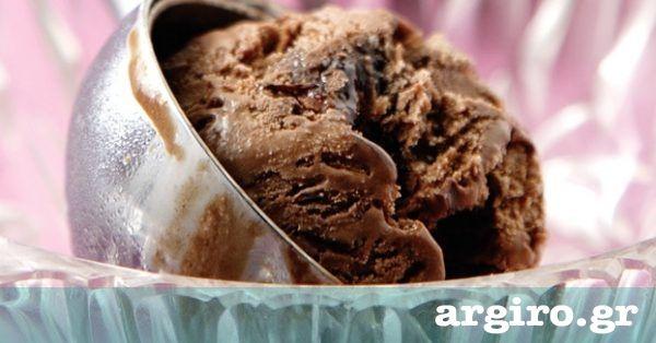 Παγωτό σοκολάτα από την Αργυρώ Μπαρμπαρίγου | Δοκιμάστε αυτή τη συνταγή για παγωτό σοκολάτα και είμαι σίγουρη ότι θα σας γίνει συνήθεια. Απλά το καλύτερο!