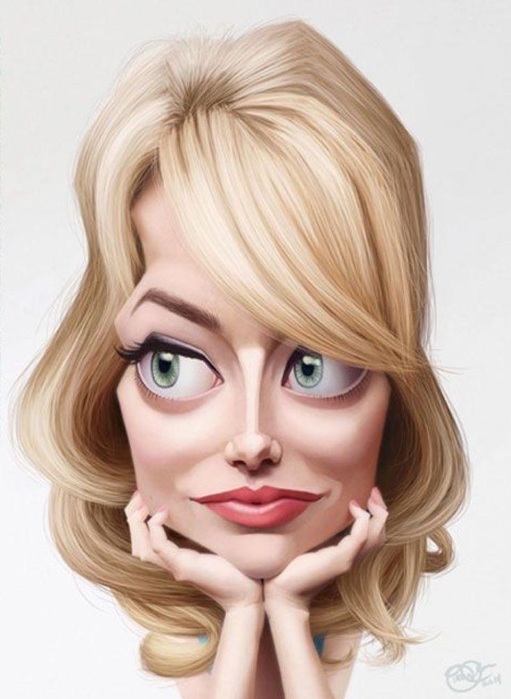 Картинки карикатуры на лицо
