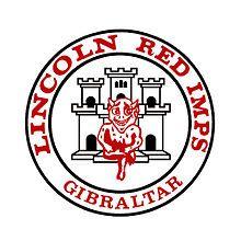 1976, Lincoln Red Imps F.C. (Gibraltar) #LincolnRedImpsFC #Gibraltar (L14797)