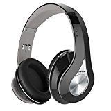 #5: Mpow Bluetooth Headphones Over Ear Hi-Fi Stereo Wireless Headset Foldable Soft Memory-Protein Earmuffs w/ Built-in Mic and Wired Mode for PC/ Cell Phones/ TV