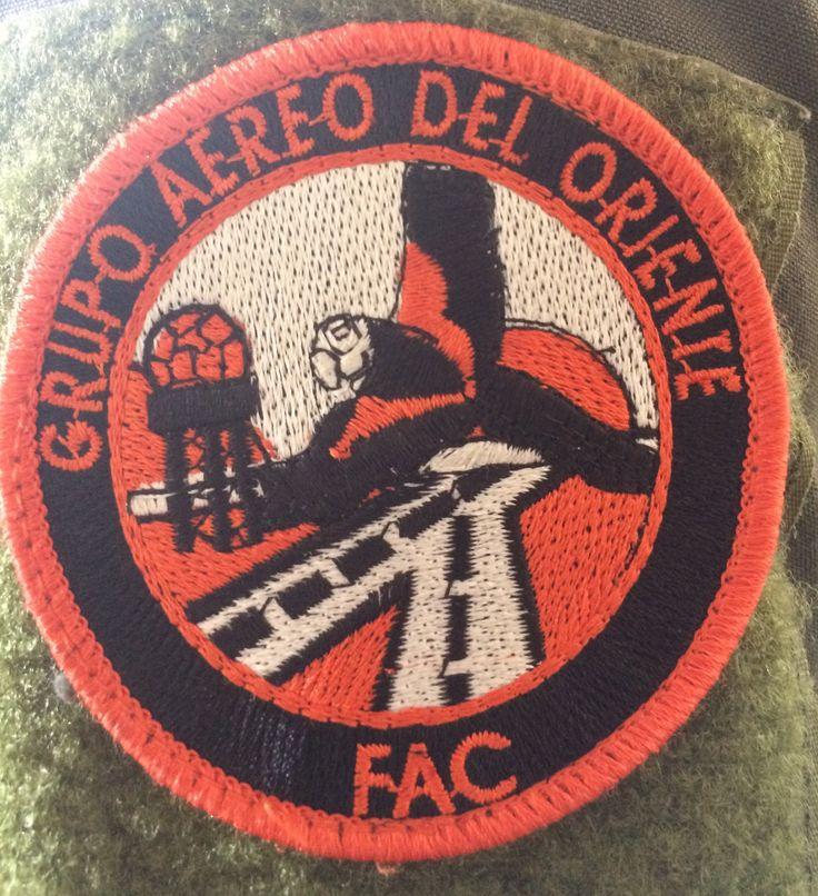 Parche del Gaori con los colores emblema del Equipo Huey II