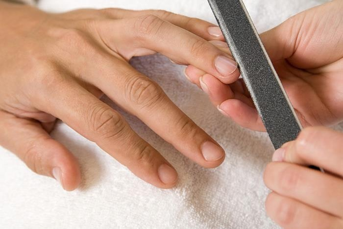 Men should get manicures and pedicures because (1) it's sexy, (2) it feels good, (3) releases stress, (4) keeps you healthy, (5) it looks good, and (6) promotes softer skin.