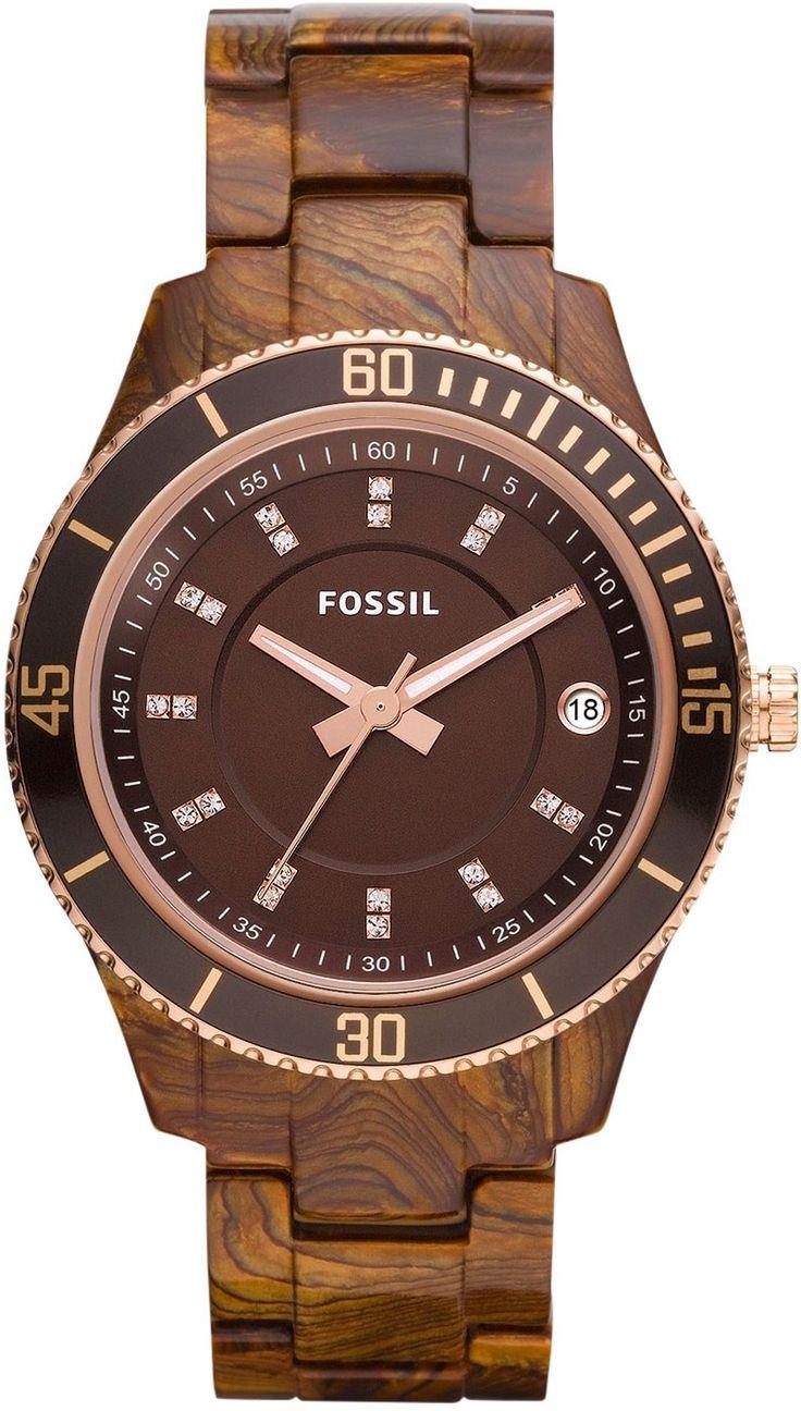 Fossil Women's ES3088 Stella Resin Watch