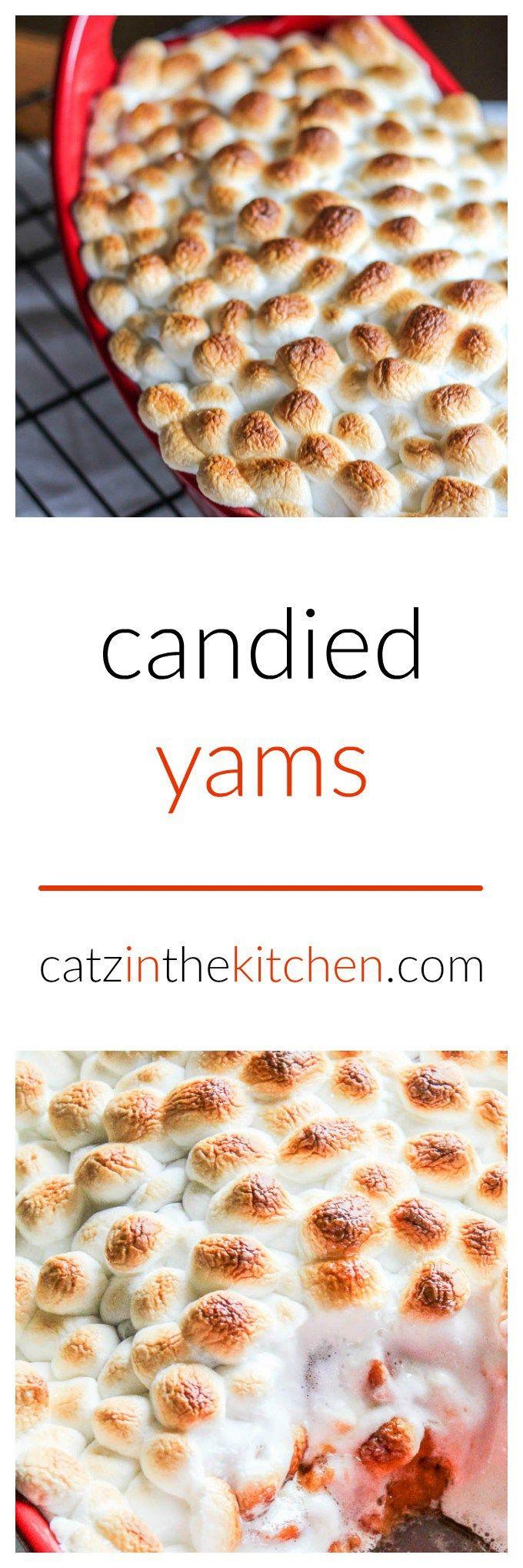 Candied yams   catzinthekitchen.com