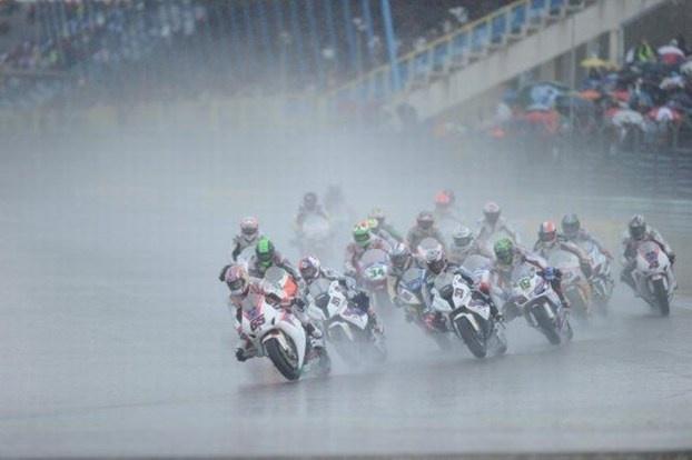 La pioggia protagonista del round a Monza