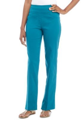 Ruby Rd Women's Key Items Millennium Stretch Pants - Peacock - 12 Average